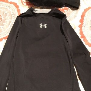 Under armour boys fitted shirt